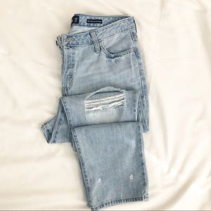 Hollister High Waisted Vintage Straight Jeans 15r